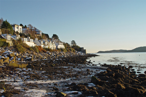 Walks from Kippford village